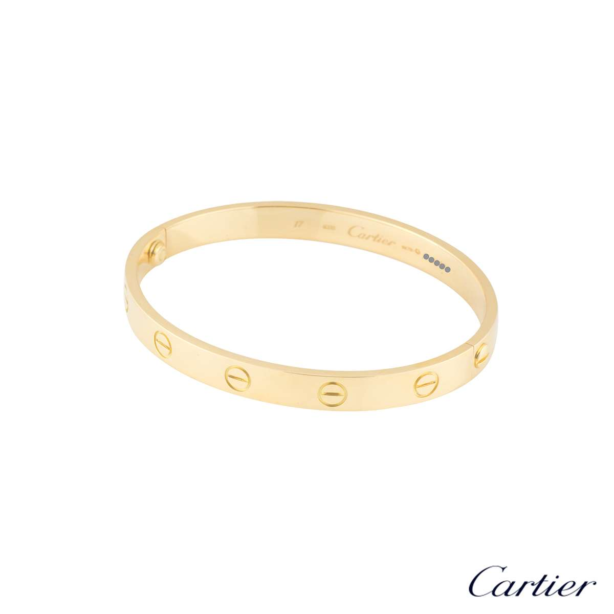 cartier bracelet sizes cartier bracelet size 17 b6035517 rich diamonds of 4798